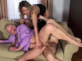 Cutie pie gets anal screwed by 2 ambisexual fellows