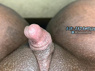 Huge clit twitching