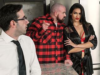 Katana Kombat & Jake Adams in Im Open To Anything - BRAZZERS