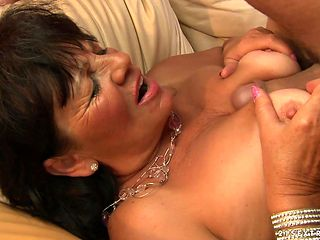 Mature with phat ass and a lucky guy enjoy oral sex they will never forget