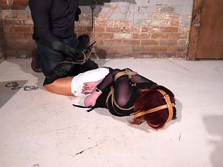 hogtied boots jail