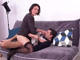 Cum Everywhere on Mature Wife