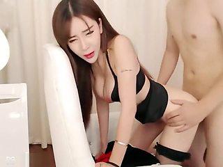 Chinese Cam Girl UT Aicee Live Fuck in Flight Attendant Uniform