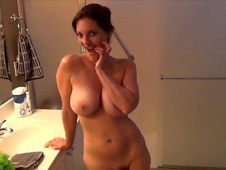Crazy amateur Big Tits, MILF porn video