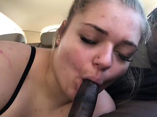 Car sex for Valentine's Day