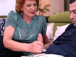 Grandma And Mother Enjoy Young Cocks - John Price