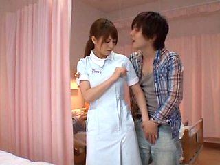 Akiho Yoshizawa Japanese nurse has sex in the hospital