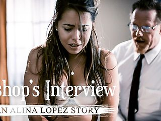 Alina Lopez & Dick Chibbles in Bishop's Interview: An Alina Lopez Story &  Scene #01 - PureTaboo