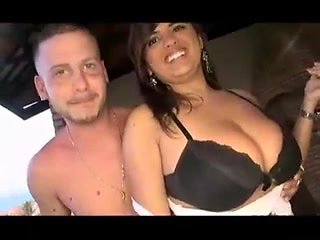 Big Tits girl and Small Tits friend with lucky Gringo