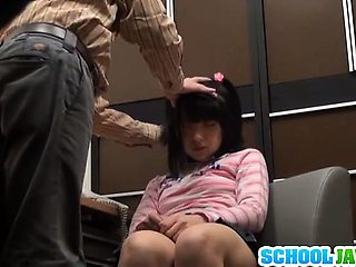 Cute Teen Schoolgirl Takes A Hard Fucking Up Her Skirt