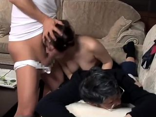 Daughter gets fucked in front of her father 4