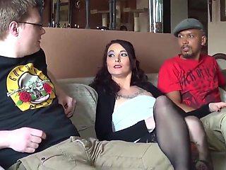 Amatrur Group Sex Vierer Swinger haben eine Orgie im Hotel