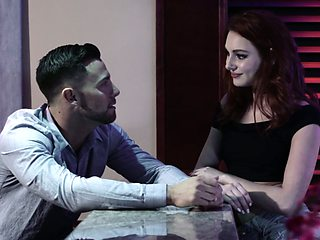 Sexy brunette Lacy Lennon is making love like there's no tomorrow
