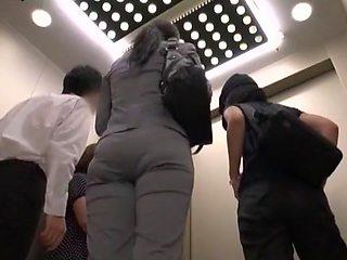Crazy Japanese slut in Best Voyeur, Public JAV video