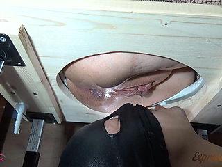 Slave licked Mistress - BDSM, Facesitting, Pussy Licking