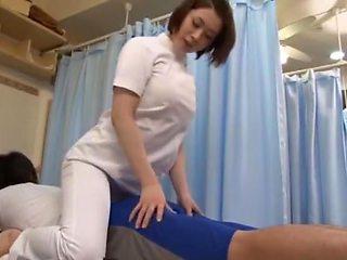 Crazy Japanese girl Ayumi Iwasa, Natsume Inagawa, Yu Anzu in Amazing Massage, Doggy Style JAV movie