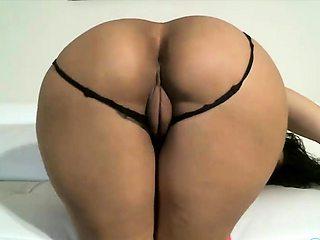 Big ass latina rides toy