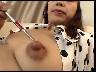 More Japanese Mature Nipple Play - Cireman