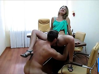 Hot sex on the table