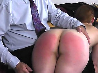 Another spanking from uncle