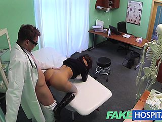 Fake Hospital Turns busty patient moans into pleasure