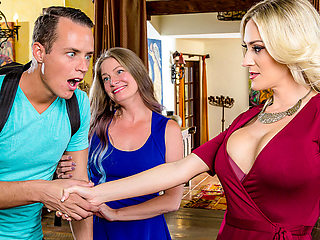 Blake Morgan  Justin Hunt in My Mom's Best Friend - DigitalPlayground