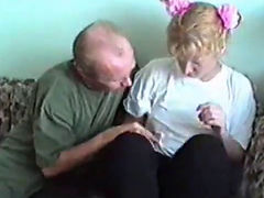 Father Gets His Way With Step Daughter