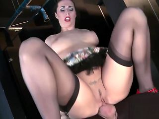Slutty Paige got her moist cunt slammed