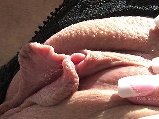 FTV - Sabrina Shows Her Clit Up Close