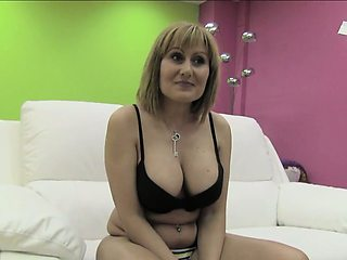 Nuria is a horny Spanish MILF with an incredibly huge
