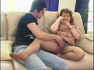 Mom and boy